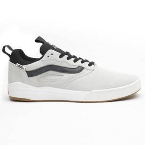 9ce148f6f21206 Vans UltraRange Pro Blanc Black Men s 7.5 Skate Shoes Sneakers New ...