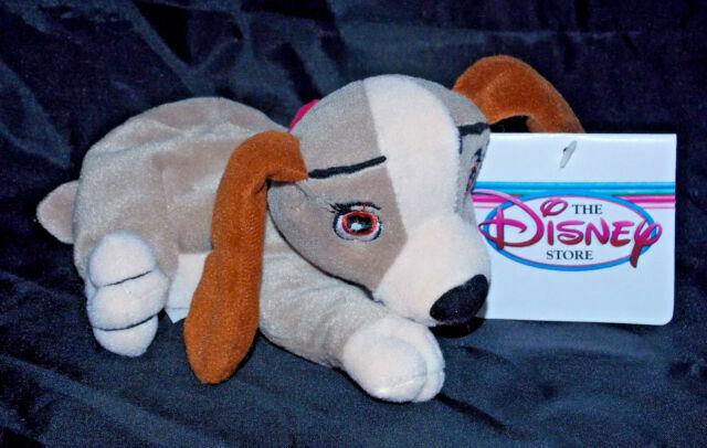 Lady And The Tramp Jock Trusty 8 Bean Bag Plush Beanie Dog 4pc Disney Toy Set For Sale Online Ebay