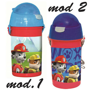 f8a2347e19 Water bottle PAW PATROL baby,with straw retractile 16.9 oz,with   eBay