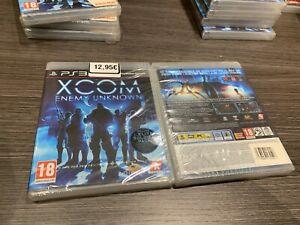 Xcom-Enemy-Unknown-PS3-IN-Spanisch-Pal-Versiegelt-Neu-Verschlossen