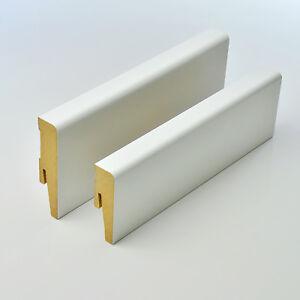 2-5m-Sockelleisten-60mm-MDF-Weimarer-Profil-Fussleisten-Bodenleiste-weiss-TOP