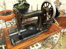 BELLISSIMO ANTICO Frister Rossmann MADREPERLA macchina da cucire