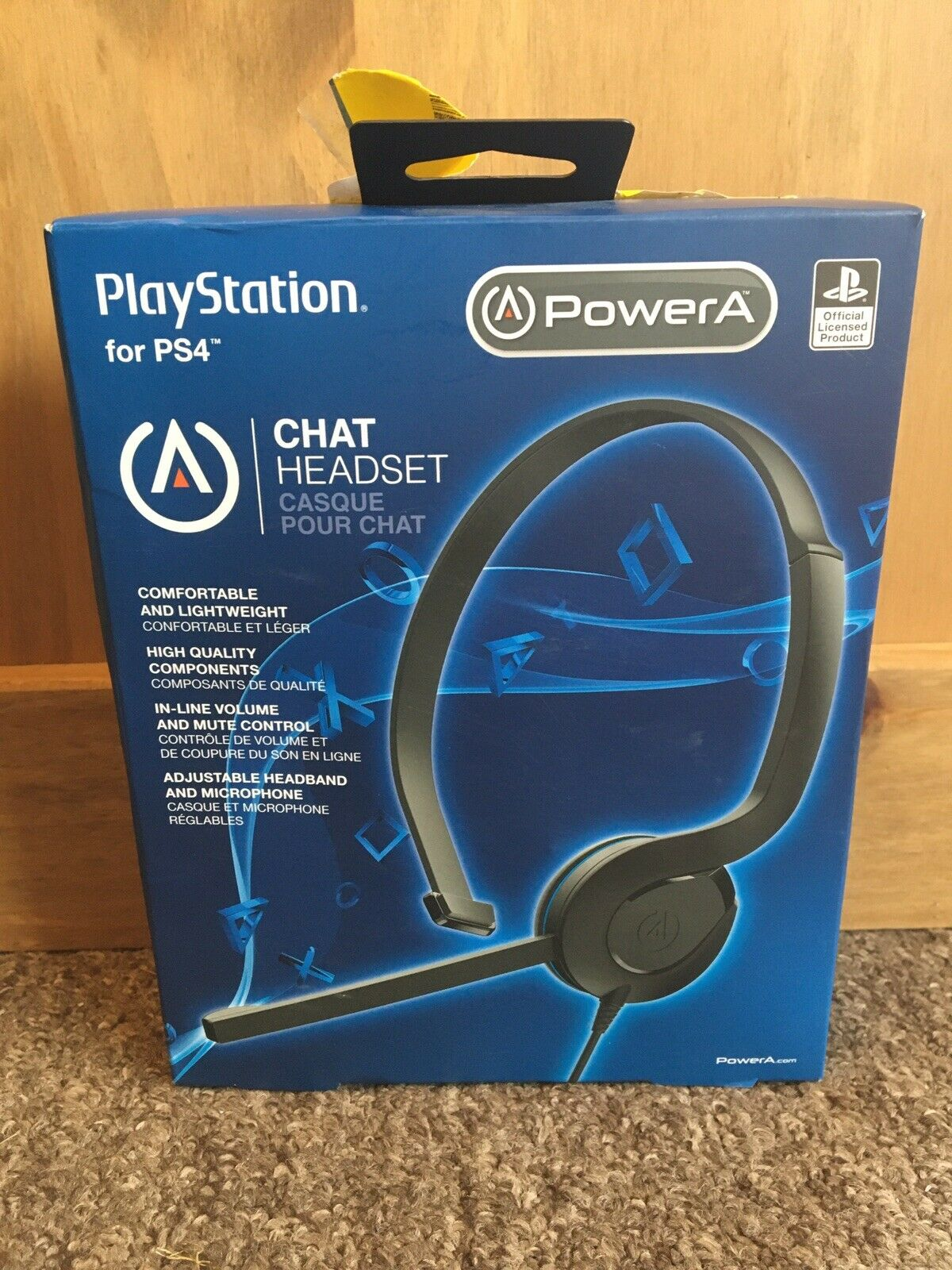 PowerA PS4 Switch Wired Chat Headset