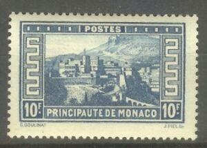 MONACO-STAMP-TIMBRE-N-133-034-PALAIS-PRINCIER-10F-BLEU-034-NEUF-xx-SUP