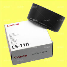 Genuine Canon ES-71II Lens Hood ES-71 II for EF 50 mm 50mm F1.4 f/1.4 USM