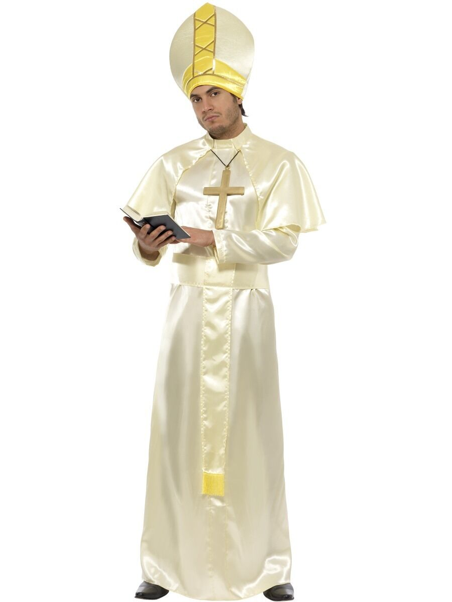 Herren Pope Maskenkostüm Pontifex Outfit NEU von Smiffys | Zürich