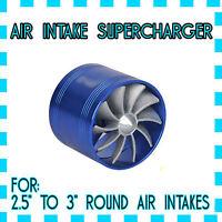 Air Intake Turbo Fan Performance Engine Supercharger Tornado (made For ®™kia)