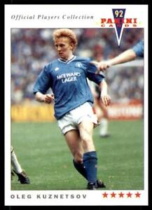 panini-joueurs-COLLECTION-1992-GLASGOW-RANGERS-Oleg-KUZNETSOV-388