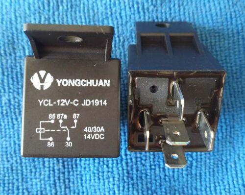 Imperméable à L/'Eau Automobile Relais 12 V 5Pin 40 A voiture relais 12 V 5 broches JD1914