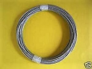 """30 ft 304 Stainless Steel Wire Rope Cable 7x19 3//16/"""""""