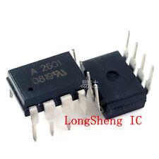 5PCS HCPL-2611V A2611V A2611 HIGH SPEED-10 MBit//s LOGIC GATE OPTOCOUPLERS DIP8