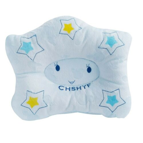 Baby Infant Pillow Newborn Anti Flat Head Syndrome for Crib Cot Bed Neck Perfect