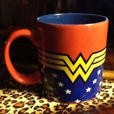 EXTRA LARGE 20 oz~DC Comics Wonder Woman Uniform~Ceramic Cup Mug COFFEE/SOUP~New