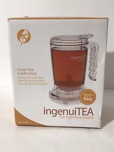 Adagio Teas 16 oz. ingenuiTEA Bottom-Dispensing Teapot Maker 16-oz BPA Free