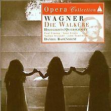 Die Walküre (Auszüge) von Barenboim | CD | Zustand sehr gut