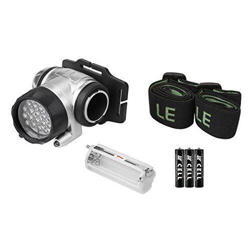Linterna LED De Cabeza Con Pilas Lámpara Frontal Para Camping Excursionismo