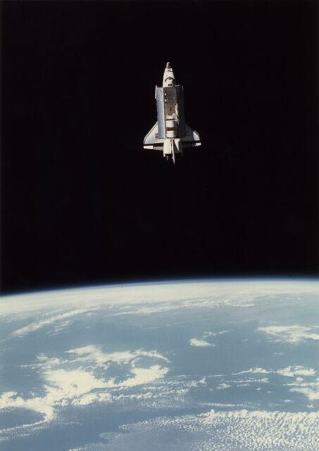 Poster Print NASA Space Shuttle Atlantis A3 A4