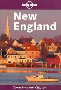 Very-Good-New-England-Lonely-Planet-Regional-Guides-Paperback-Tom-Brosnaha