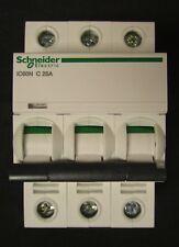 SCHEIDER ELECTRIC A9F73416 3 Pole 16 AMP IC60N C 16A ACTI9 Ciruit Breaker 400V