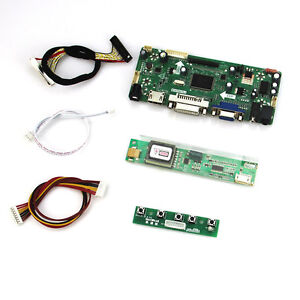 Details about HDMI VGA Driver Board (HDMI+VGA+DVI+AUDIO) LVDS LCD  Controller Board Kit DIY
