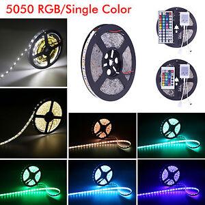 Waterproof-5M-10M-5050-SMD-RGB-Warm-Cool-White-300-LED-Flexible-Strip-light-12V