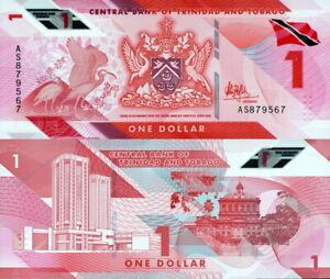 Trinidad & Tobago - 1 Dollars 2020/2021 Polímero Fds - UNC