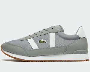 Lacoste-Partner-319-1-JD-SMA-Men-Size-UK-9-5-EUR-44-Grey-White-Leather