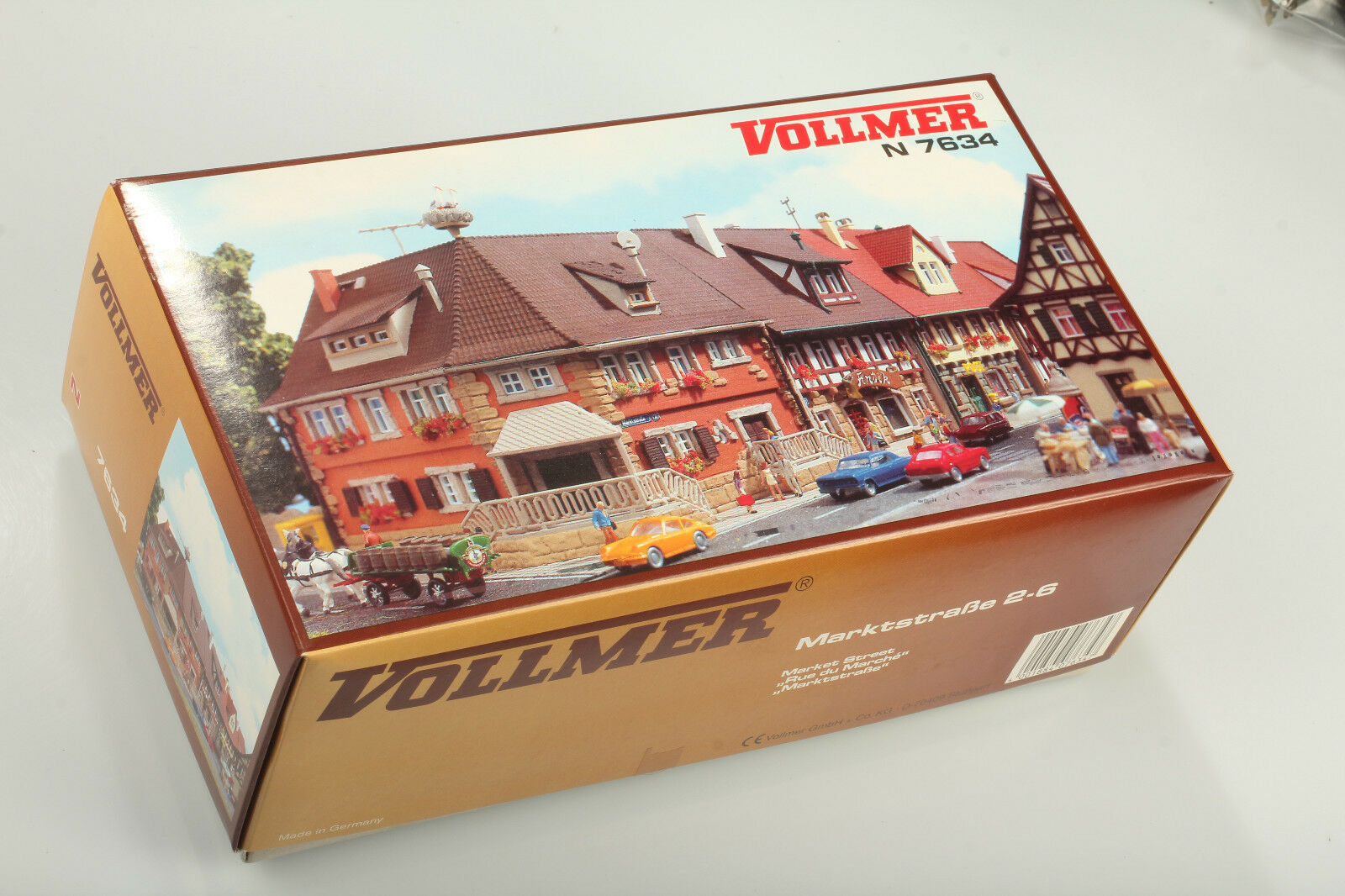N Vollmer 7634 Marktstraße 2-6  - OVP wurde aber geöffnet