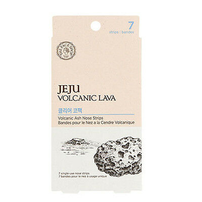 ​THE FACE SHOP Jeju Volcanic Ash Nose Strip (7pcs)