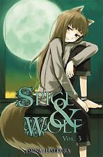 Spice and Wolf: Spice and Wolf 3 by Isuna Hasekura (2010, Paperback)