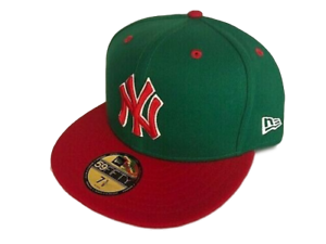 NEW-YORK-YANKEES-NEW-ERA-59FIFTY-CUSTOM-FITTED-CAP-HAT-7-3-4-SHIPS-IN-A-BOX