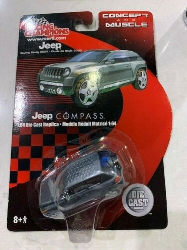 2003 Racing Champions Concept And Muscle Jeep Compass