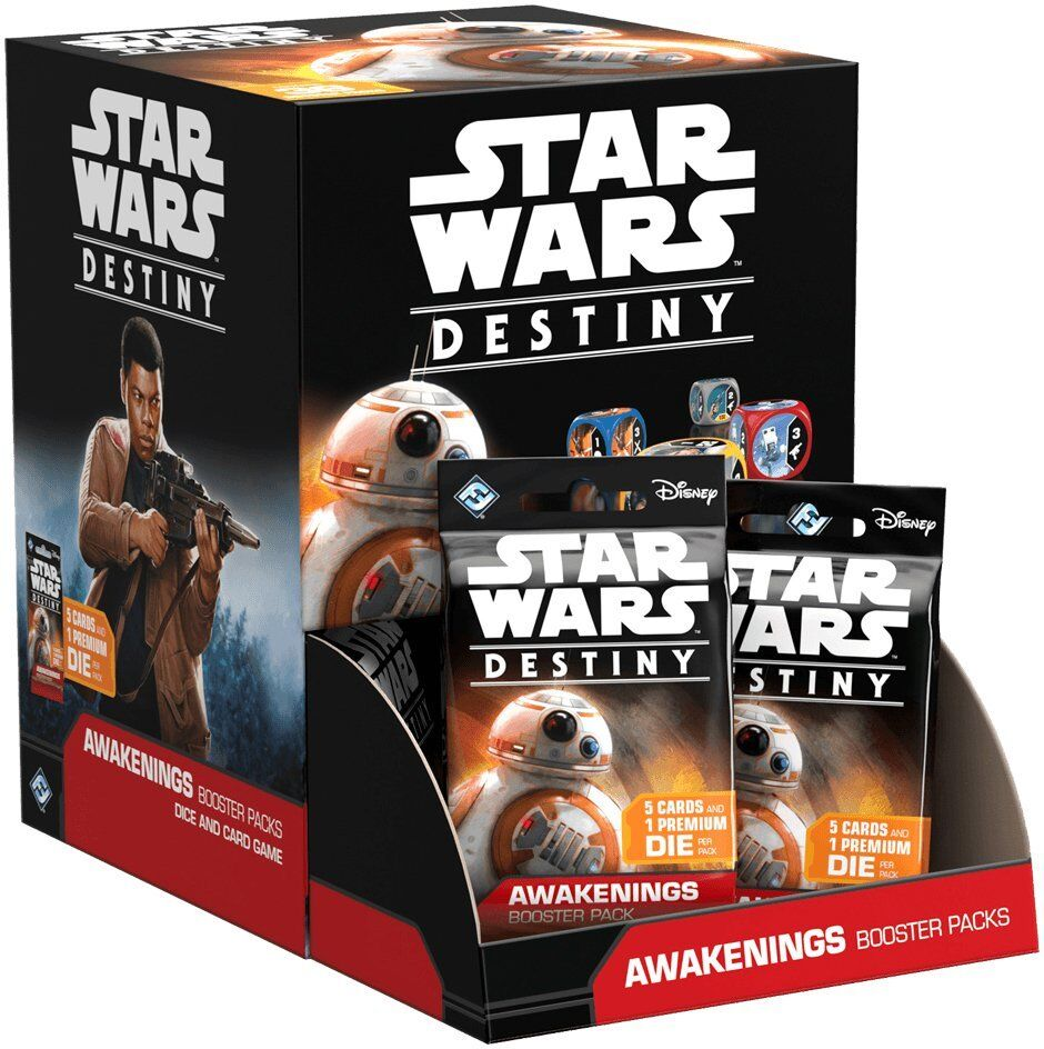 Star Wars Destin  énergisant booster box Fantasy Flight Games BRAND NEW