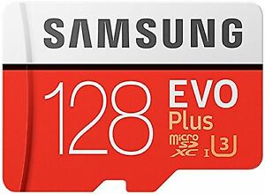 SAMSUNG EVO PLUS MICROSDXC 100MB/s Read 90MB/s Write 128GB FLASH MEMORY CARD st