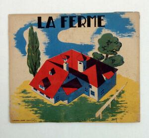 Details Sur Livre Ancien Decoupage A Monter La Ferme Nisse Lille Planches A Decouper