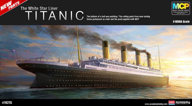 Academy 14215 Plastic Model Kit 1 400 The White Star Liner TITANIC