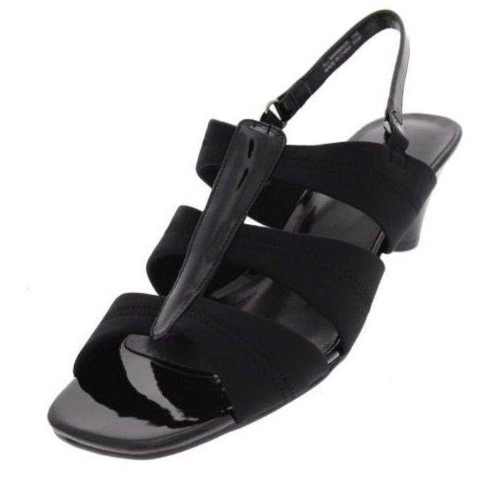 New KAREN SCOTT Women Sandal Low Heel Slip On Open Toe Slingback shoes Sz 7.5 M