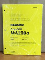 Komatsu Wa250-3 Wheel Loader Service Shop Manual 1