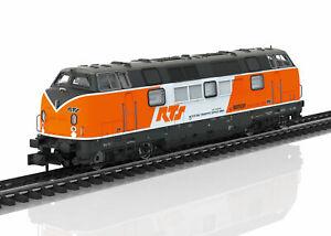 Agressif Minitrix Piste N 16202 Locomotive Diesel Br 221 De La Rts-ve Br 221 Der Rts Fr-fr Afficher Le Titre D'origine