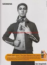 Siemens C25 Mobile Phone 2000 Magazine Advert #7744