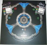 Star Trek Attack Wing Ds9 Deep Space 9 Token Sheet With Cards Month 6 Op