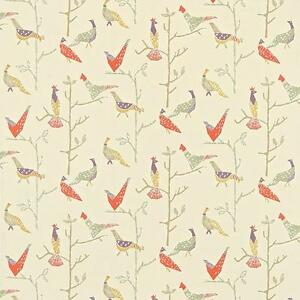 MASSIVE-REMNANT-John-Lewis-Treescape-Cotton-Furnishing-Fabric-Appx-144cm-x-1-6M