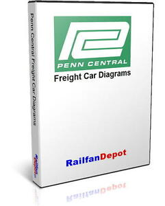 Details about Penn Central Freight Car Directory and Diagrams - PDF on CD -  RailfanDepot