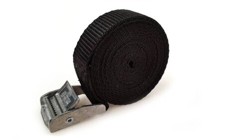 5 Buckled Straps 25mm Cam Buckle 2.5 meters Long Heavy Duty Load Securing