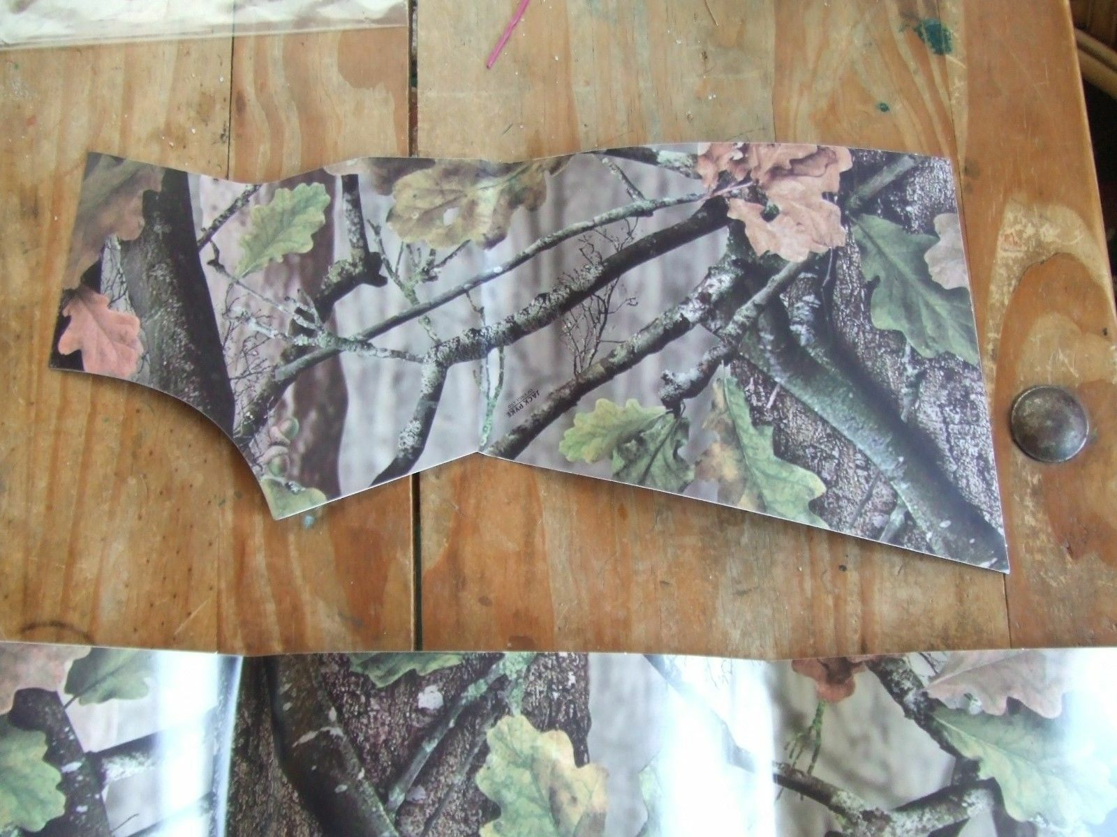 Pre Cut Vinyl Film Camo Semi Auto Pump Action Shotgun Wrap Kit Camouflage Skin