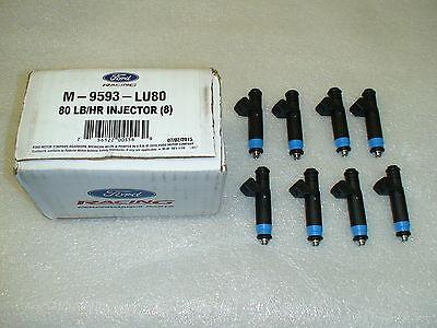New Ford Racing EV1 80lb Fuel Injectors 80lb 840cc 80# 99-04 Mustang GT ,Cobra