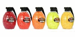 Lot-of-5-7-500-BBs-Total-1-500-AIRSOFT-BB-GRENADE-BOTTLE-Pellets-6mm-12g