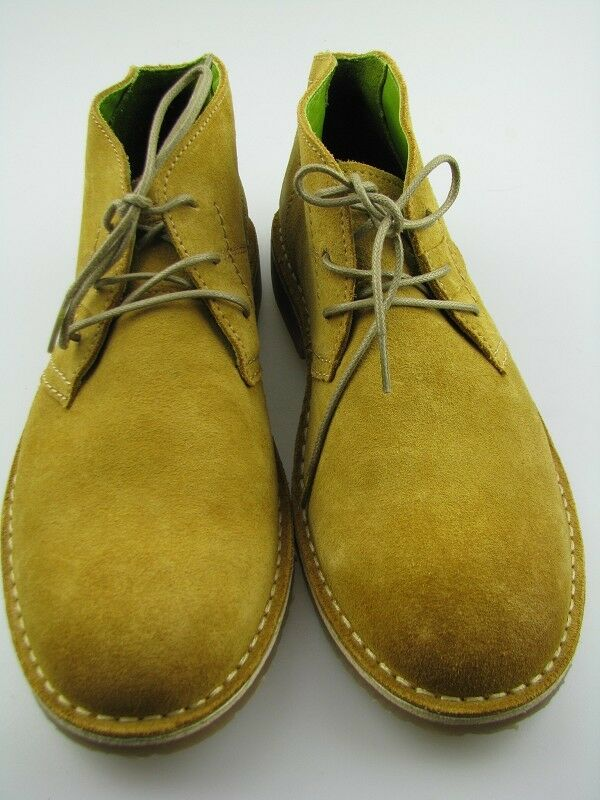 Camel-Active Halbschuhe Wildleder yellow Gr.41