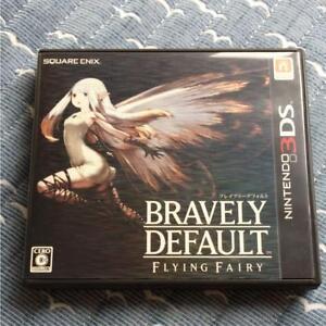 Bravely-por-Defecto-Vuelo-Fairy-Nintendo-3DS-Juego-Usado