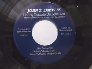 TEXAS-BLUES-EP-JOHN-T-SAMPLES-Daddy-Double-Do-Love-You-SOLO-GUITAR-amp-HARMONICA